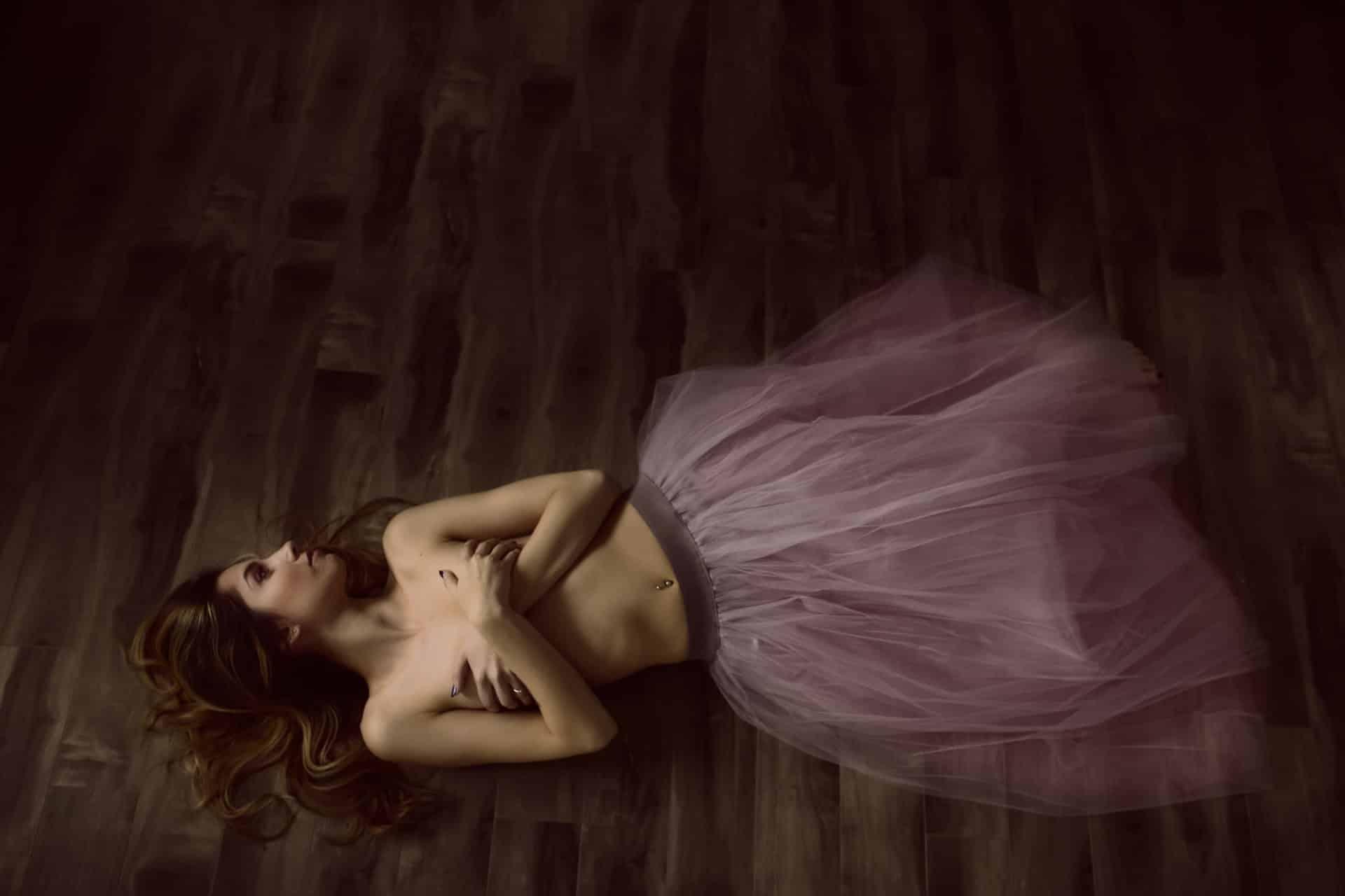 Chelsi in ballet skirt